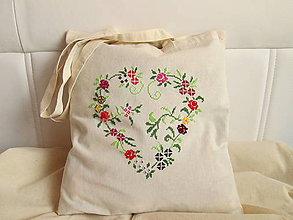 Nákupné tašky - Nakupujem srdcom - 8227609_