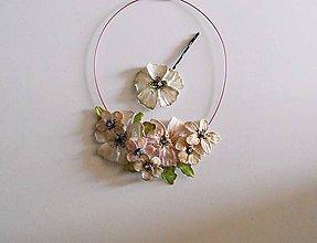 Náhrdelníky - vintage jabloňové flowers - 8229520_