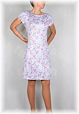 Šaty - Šaty jabloňový květ vz.352 - 8227698_