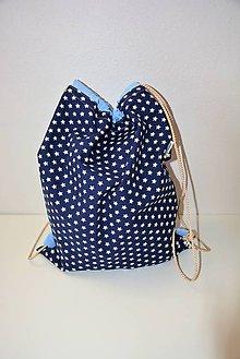 Batohy - Batoh uni (blue star) - 8228601_