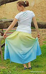 Sukne - Sukňa šitá, batikovaná, maľovaná, etno SARANYU - 8227837_
