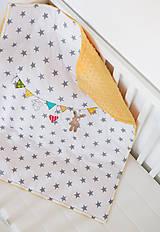 Textil - Detská deka s minky - 8228416_
