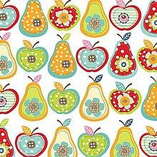 Papier - jabĺčka - hrušky - 8229026_