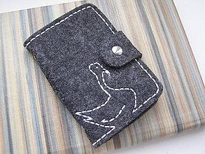 Peňaženky - Obal na doklady - Labuť - 8227970_