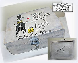 Krabičky - Krabica pre svadobčanov :) - 8230622_
