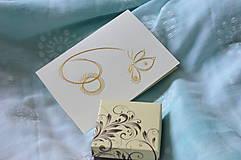 Papiernictvo - 60 (motýľ zlatý) - 8228432_