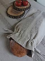 Úžitkový textil - Vrecko na chlieb Natural - 8227876_