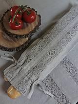Úžitkový textil - Vrecko na bagety Natural - 8227946_