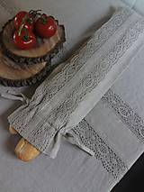 Úžitkový textil - Vrecko na bagety Natural - 8227949_