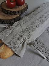 Úžitkový textil - Vrecko na bagety Natural - 8227966_