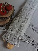 Úžitkový textil - Vrecko na bagety Natural - 8227967_