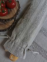 Úžitkový textil - Vrecko na bagety Natural - 8227975_