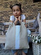 Ľanová taška Mediteran Style