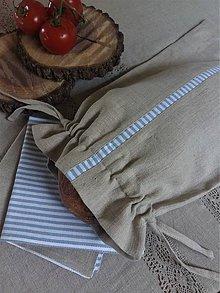 Úžitkový textil - Vrecko na chlieb Mediteran Style - 8227776_