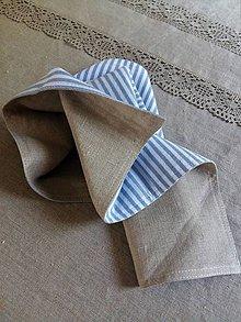 Úžitkový textil - Obojstranný obrúsok Mediteran Style - 8228037_
