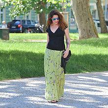 Sukne - Dlhá sukňa Provence - 8227396_