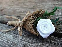 Svadobné pierko - Ružička vo vreci