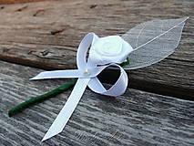 Svadobné pierko - Ružička minimal