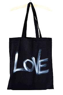 Nákupné tašky - LoVe... eDíCia B/W - 8234204_