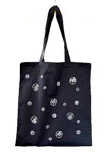 Nákupné tašky - KVieTKy... eDíCia B/W - 8234227_