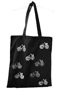Nákupné tašky - VŠaDe SaMé BiCyKLe... eDíCia B/W - 8234228_