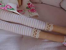 Bábiky - Anjelka v ružičkovej sukienke - 8231502_