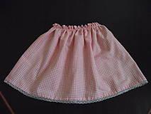 suknička pre škôlkárku
