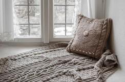 pletená deka Anežka