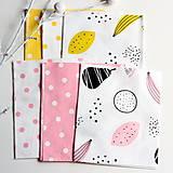 Textil - Balíček dizajnérskych látok s detskými motívmi 6 ks 40cmx50cm - 8231733_