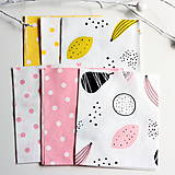 Textil - Balíček dizajnérskych látok s detskými motívmi 6 ks 40cmx50cm - 8231734_