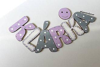 Tabuľky - KLÁRKA meno pre dievčatko na dvere - 8232421_