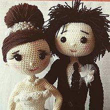 Darčeky pre svadobčanov - Svadobný pár - 8231117_