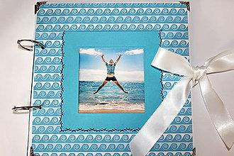 Papiernictvo - Dovolenkový fotoalbum na dotvorenie - 8233814_