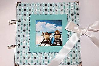 Papiernictvo - Dovolenkový fotoalbum na dotvorenie - 8233982_