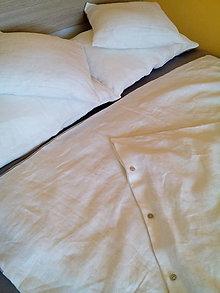 Úžitkový textil - Ľanové posteľné obliečky - 8233263_