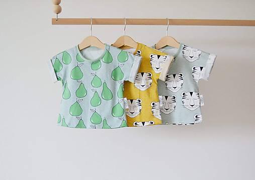 Detské oblečenie - Oversize tričko  - 8231356_