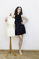 Šaty - Čierne koktejlky - 8232541_
