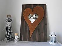 Obrázky - Srdce XXXL do ktorého sa dá vložiť foto - 8232625_