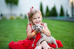 Detské oblečenie - Bodkované retrošaty - 8234188_
