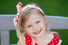 Detské oblečenie - Bodkované retrošaty - 8234194_