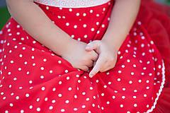 Detské oblečenie - Bodkované retrošaty - 8234196_