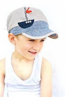 Detské čiapky - Šiltovka Robinson Crusoe - 8234493_