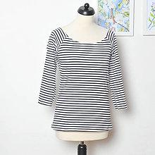 Tričká - Pruhované tričko, vel. M-L - 8231262_