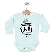 Detské oblečenie - Budem brat! - 8236309_