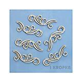Polotovary - Výrez Si tak pôvabná - Veľký dekor, 6ks - 8236372_