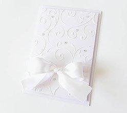 Papiernictvo - pohľadnica svadobná - 8234992_