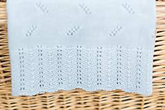 """Textil - Letná detská deka, """"Diana"""",OEKO-TEX® - Bledomodrá - 8235597_"""