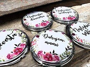 Iné šperky - Zrkadielka pre družičky - na želanie - 8235613_