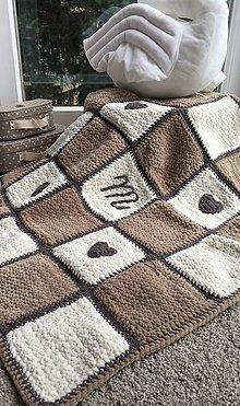Úžitkový textil - Vidiecka deka pre Matúška - 8234867_