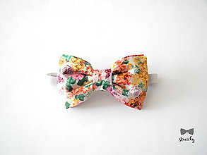 Textil - Detský motýlik - kolekcia Šípková Rúženka - 8237173_
